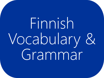 Finnish Vocabulary and Grammar