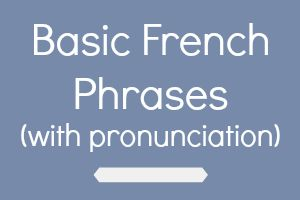 Common French Words For Kids galleryhip com - The