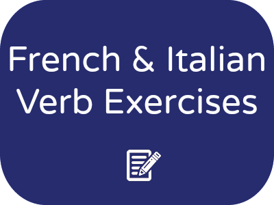 French and Italian Verb Flashcards