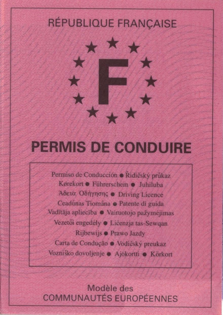 Do my paper for me licence to driving in france